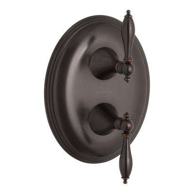 Finial 2-Handle Valve Trim Kit in Oil-Rubbed Bronze (Valve Not Included)