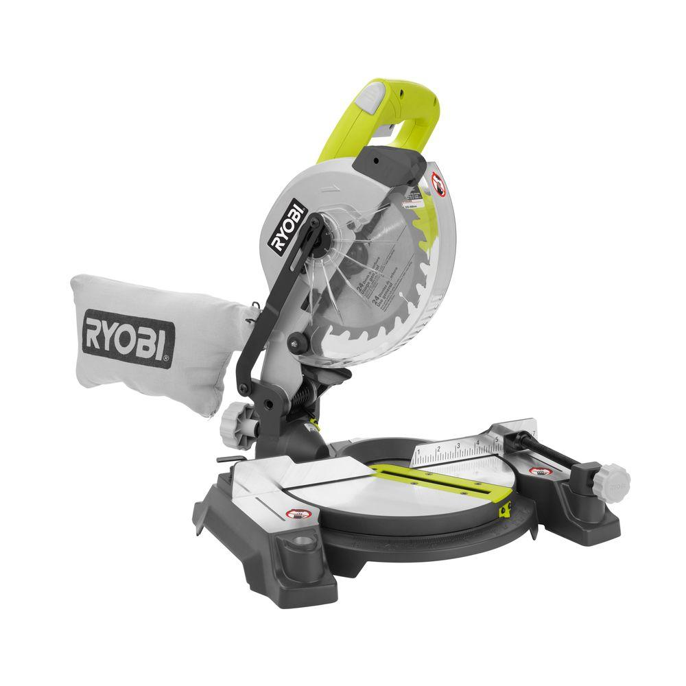 Ryobi 9 amp 7 14 in compound miter saw with laser ts1143l the compound miter saw with laser keyboard keysfo Image collections