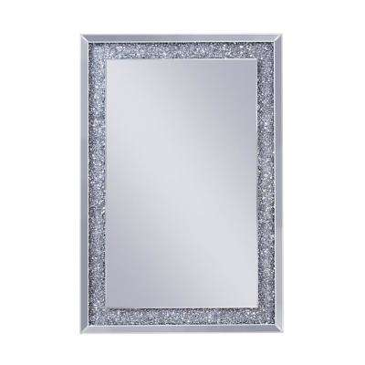 Noralie Mirrored and Faux Diamonds Wall decor