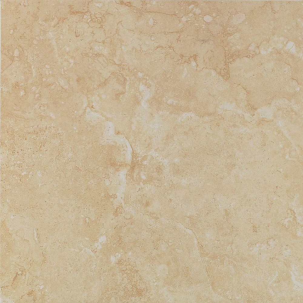 U.S. Ceramic Tile Fresno Beige 16 in. x 16 in. Ceramic Floor & Wall Tile-DISCONTINUED