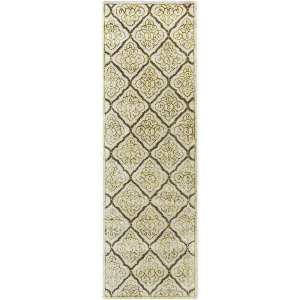 Aprevalia Ivory 2 ft. 6 in. x 8 ft. Indoor Rug