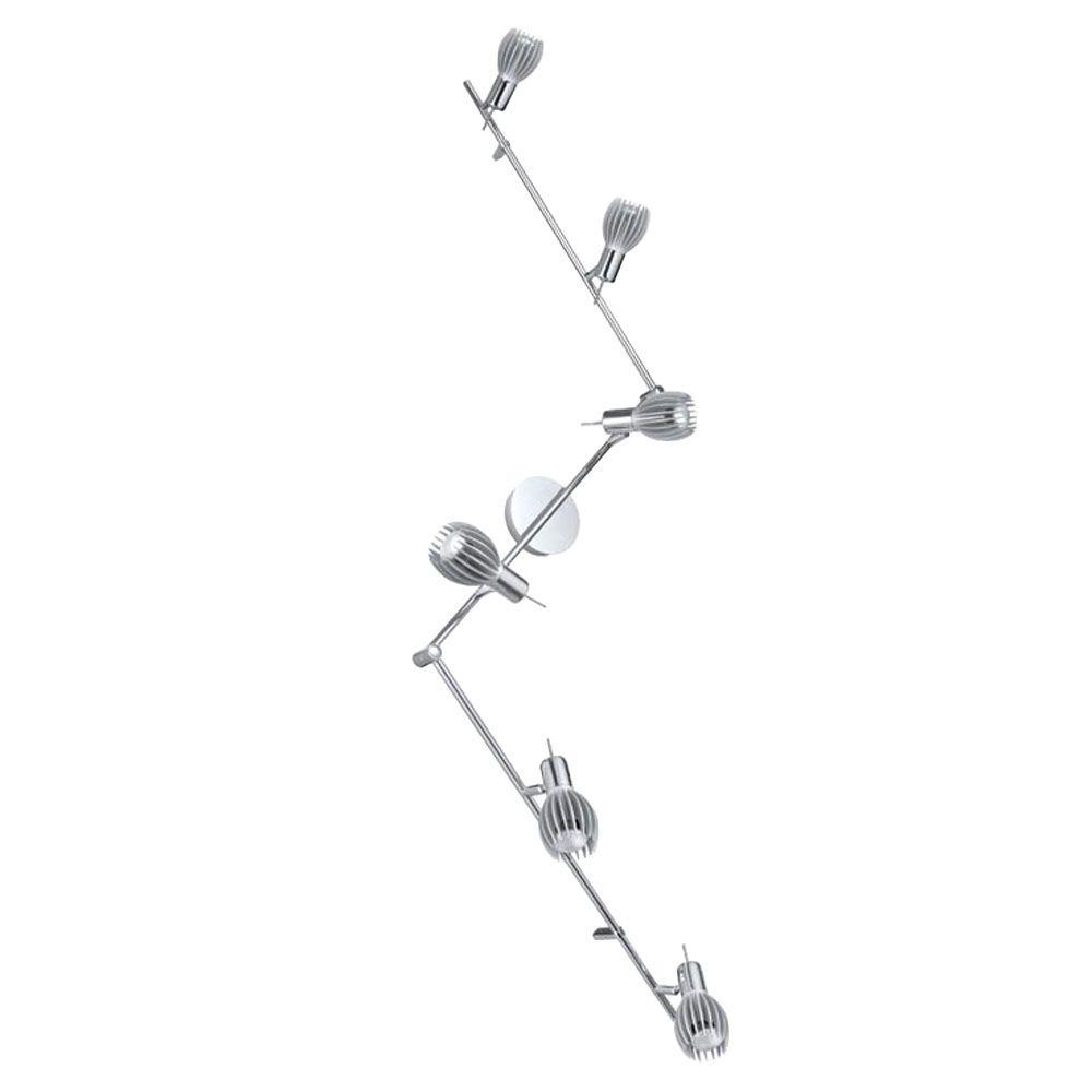 Eglo Spico 6-Light Chrome Track Light-DISCONTINUED