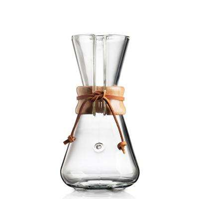 Hand Blown 3-Cup Coffee Maker