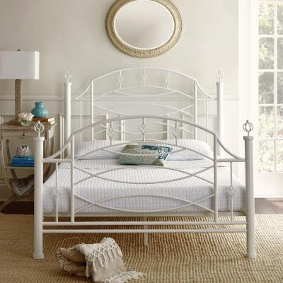 Wrought Iron Beds Bedroom Furniture The Home Depot