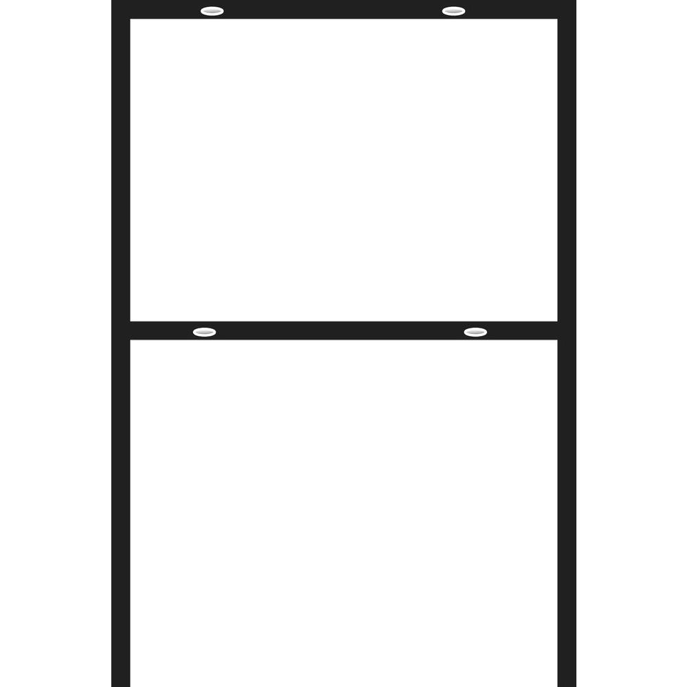 18 In X 24 In Metal Sign Frame 844137 The Home Depot