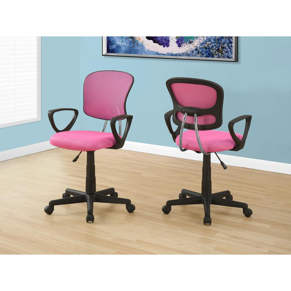 Monarch Pink Multi Position Kids Office Chair