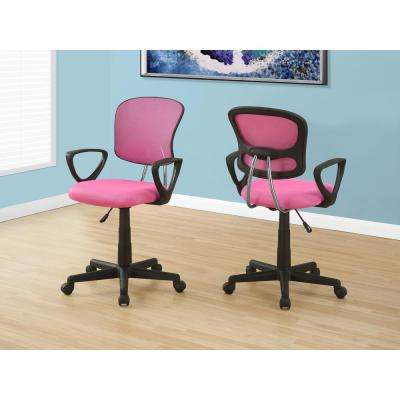 Pink Multi-Position Kids Office Chair