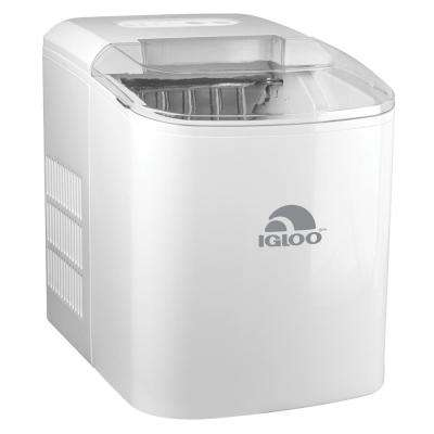 26-Pound Portable Ice Maker, White