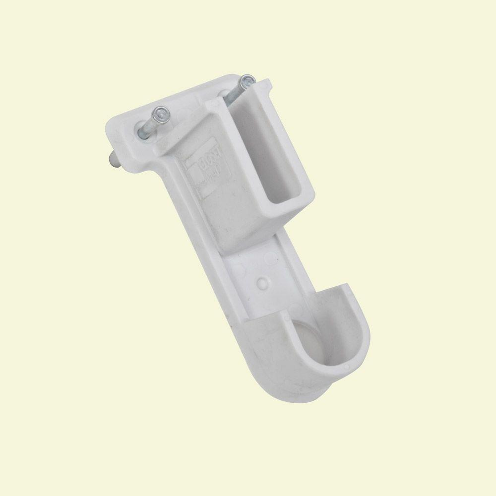 4-1/2 in. Drywall Side Wall Bracket for Wire Shelving