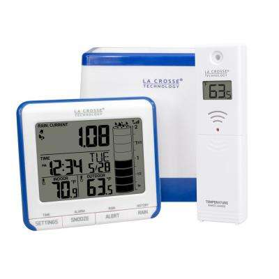 Wireless Rain Gauge with Temperature