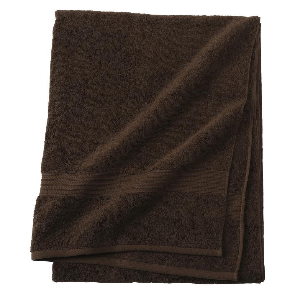 Newport 1-Piece Bath Sheet in Chocolate
