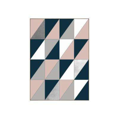 "51.25 in. x 37.25 in. ""Divided"" by Bobby Berk Printed Framed Wall Art"