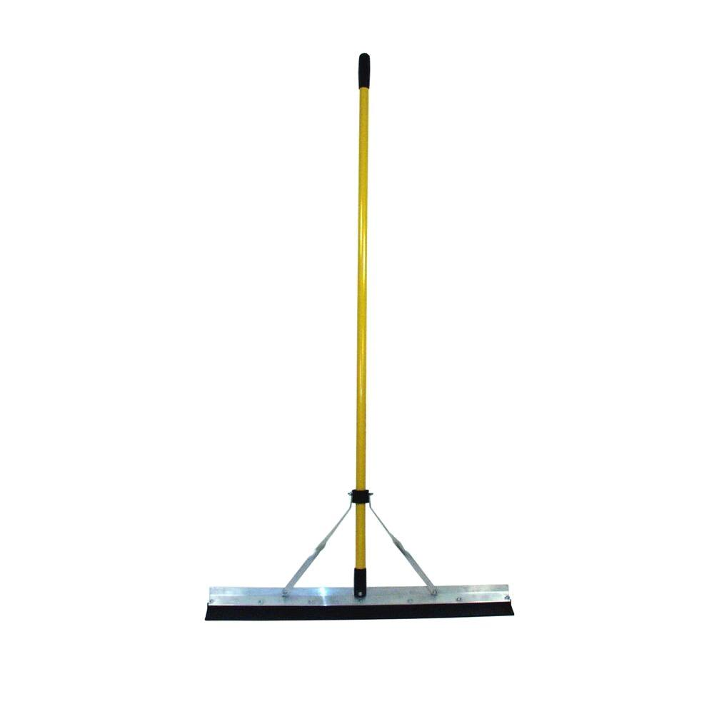 Nupla Heavy Duty Squeegee with Replacable Rubber Blade and 66 in. Classic Fiberglass Handle