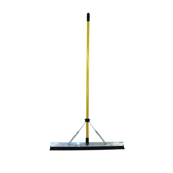 Heavy Duty Squeegee with Replacable Rubber Blade and 66 in. Classic Fiberglass Handle