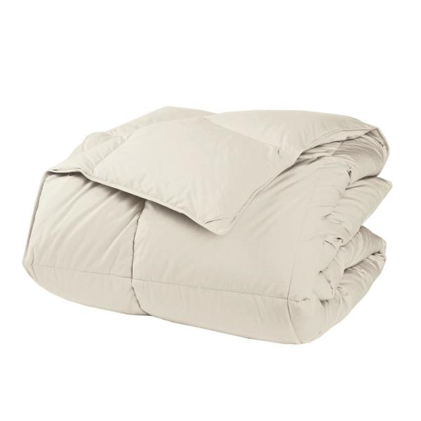 LaCrosse LoftAIRE Extra Warmth Ivory King Down Alternative Comforter