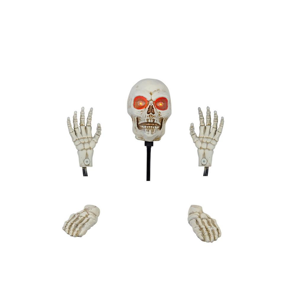 17 in. Skeleton Ground Breaker with LED Illumination including Head and
