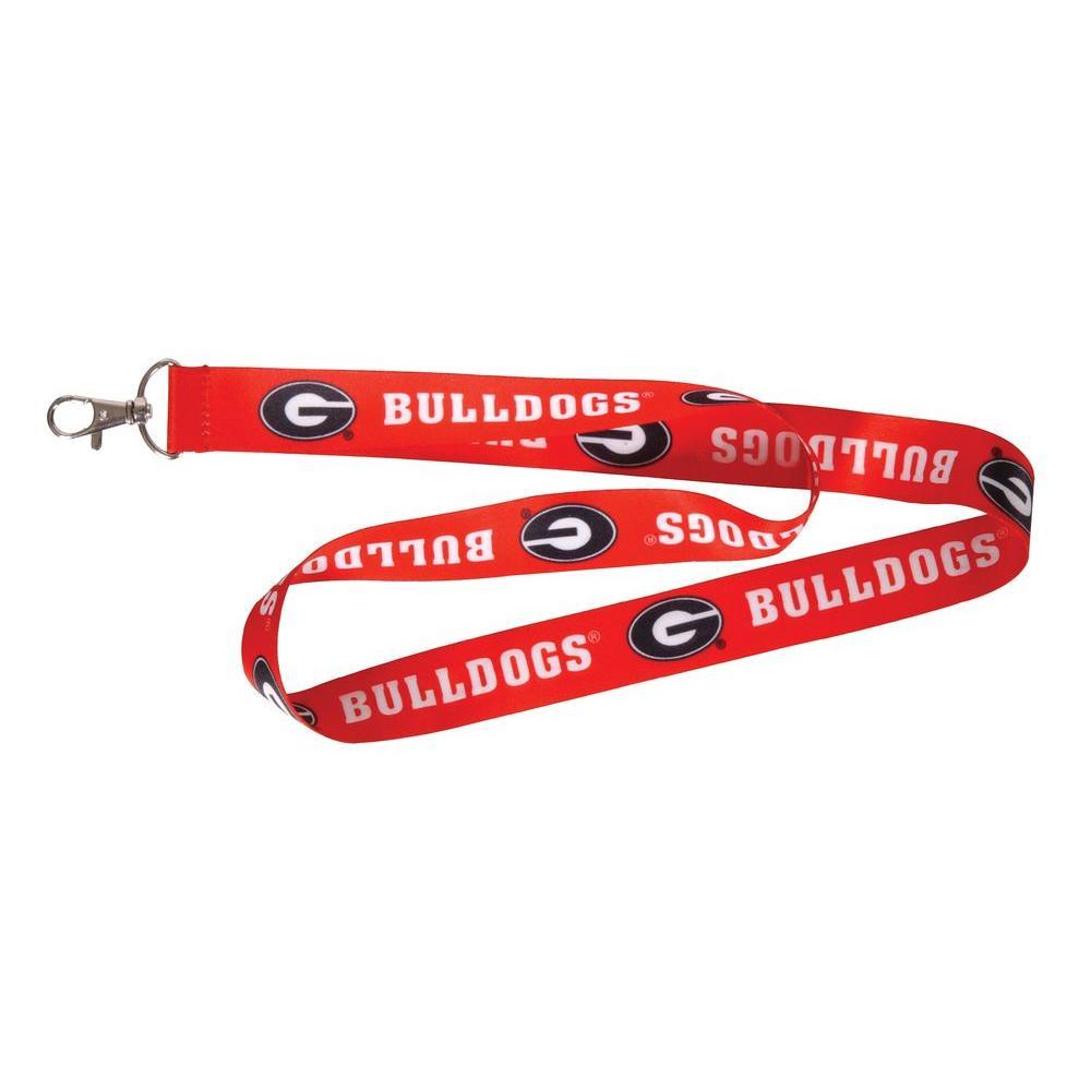 NCAA University of Georgia Bulldogs Lanyard