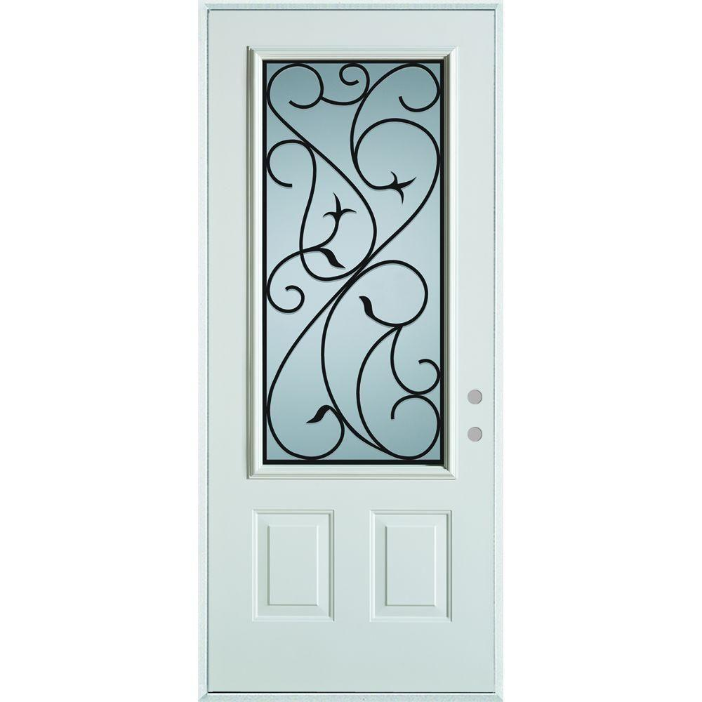Stanley Doors Front Doors Exterior Doors The Home Depot