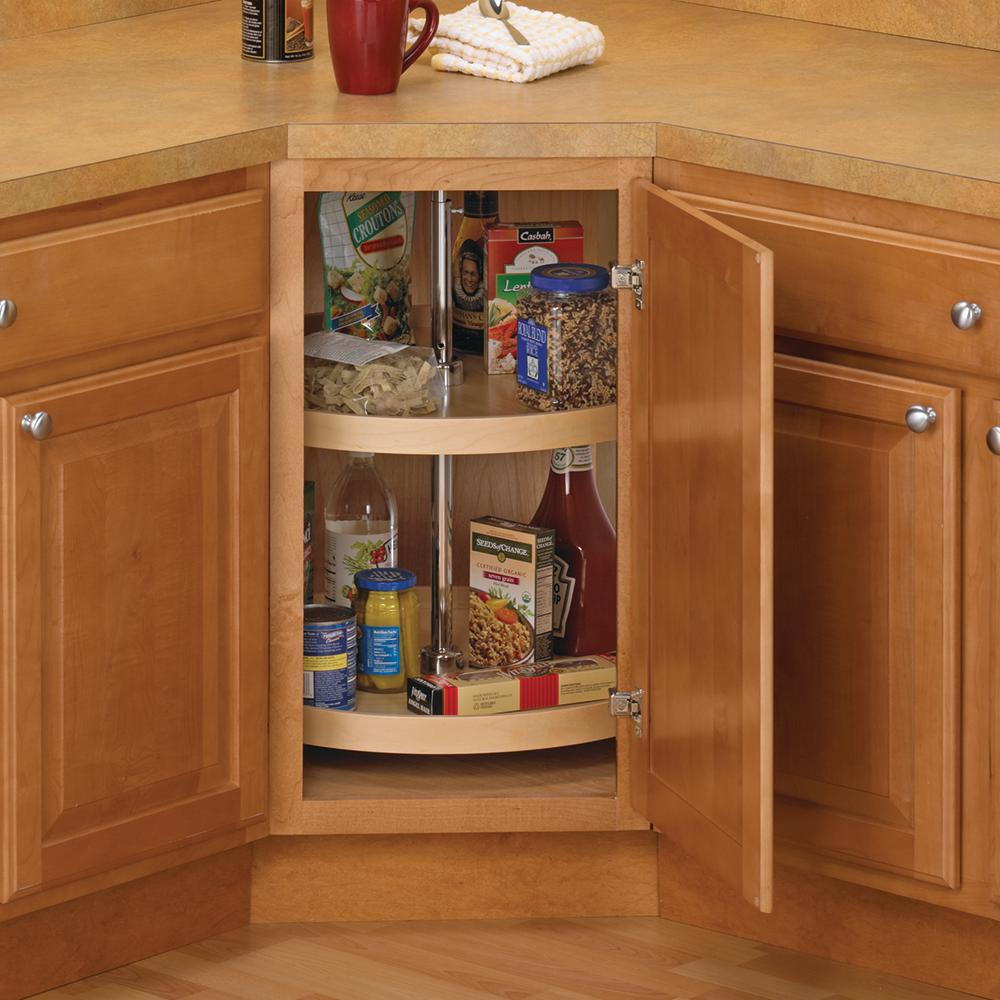 rotating set shelf rev wire cabinets lazy kitchen shelves chrome susan a