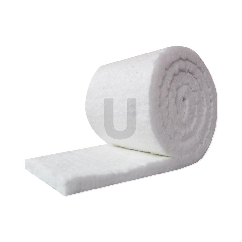 Ceramic Fiber Insulation Blanket Roll (6# Density, 2300°F)  (1in x24in x60in ) for Kilns, Ovens, Furnaces, Forges, Stoves