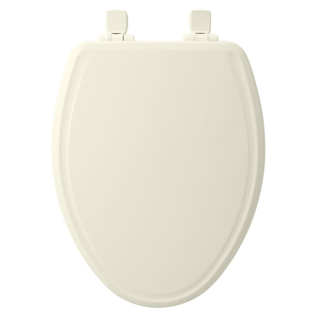 Church Elongated Closed Front Toilet Seat In Biscuit 685e3