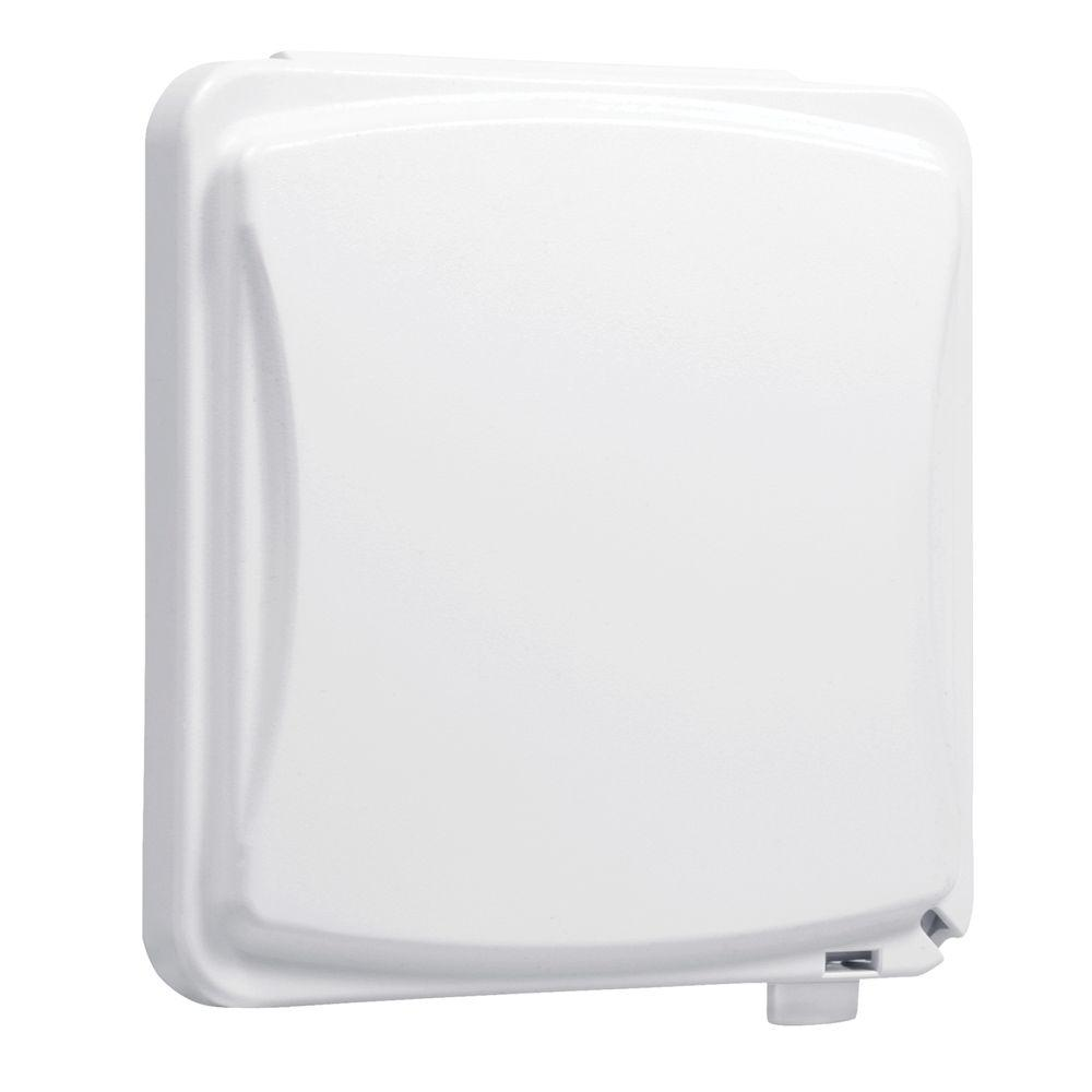 TAYMAC 2-Gang Weatherproof Universal Device Flat Cover