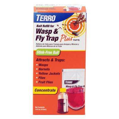 Wasp and Fly Trap Plus Fruit Fly Refill