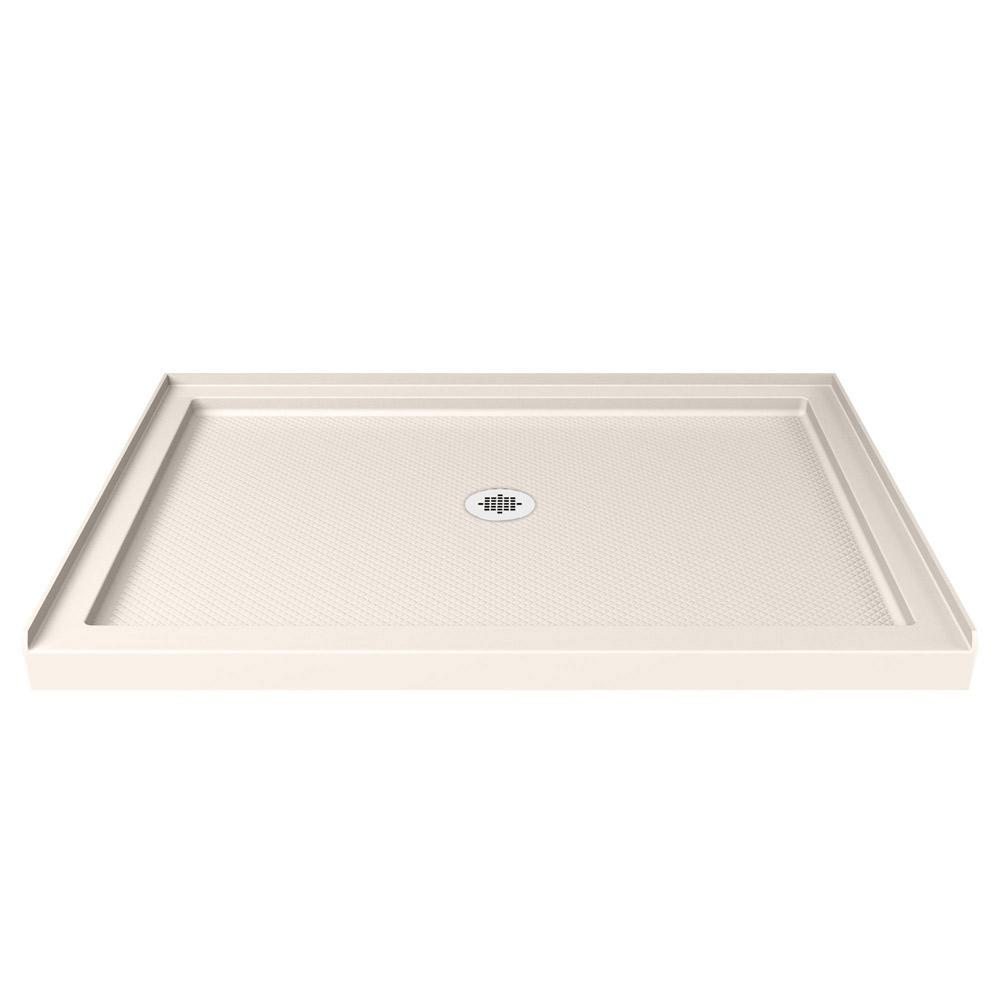 DreamLine SlimLine 42 in. W x 36 in. D Center Drain Single