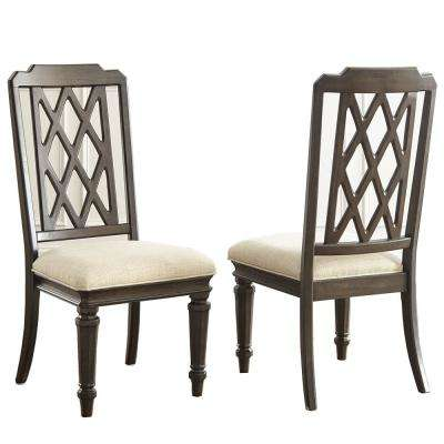 Vivaldi Walnut Side Chair (Set of 2)