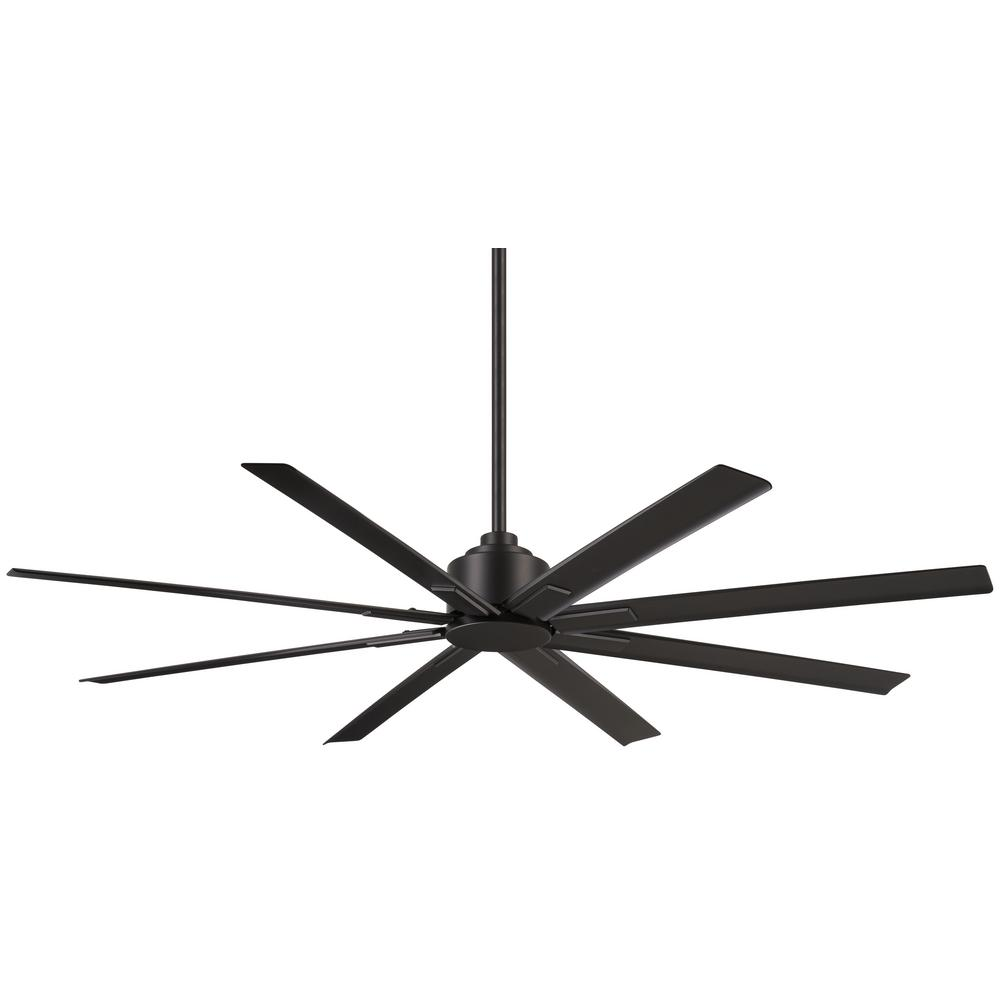 Minka-Aire Xtreme H2O 65 in. Indoor/Outdoor Coal Ceiling Fan with Remote Control