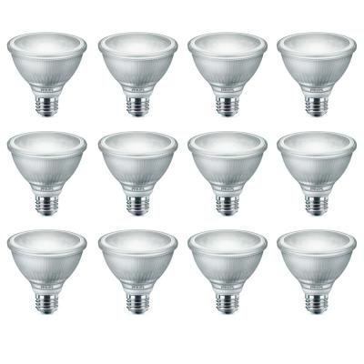 75-Watt Equivalent Bright White PAR30S Dimmable LED Warm Glow Light Bulb (12-Pack)