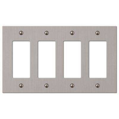Elan 4 Decorator Wall Plate - Brushed Nickel