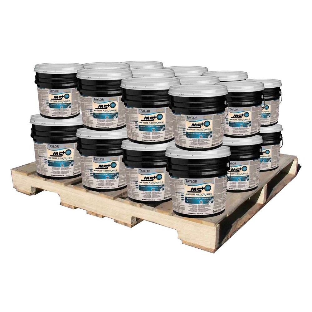 Taylor MS Plus 4 Gal. Advance Wood Flooring Adhesive (24-Pallet)