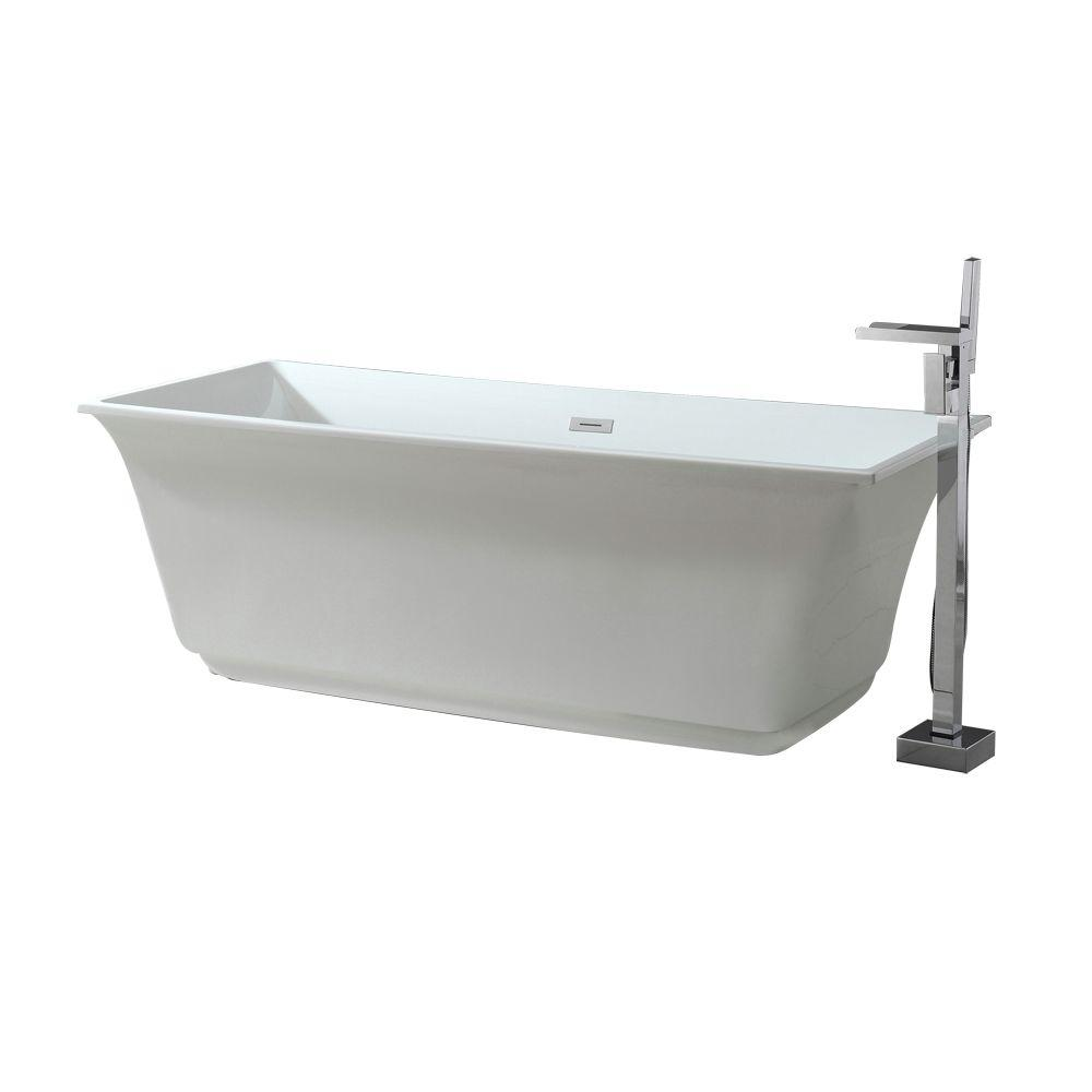 58 inch freestanding bathtub | Plumbing Fixtures | Compare Prices at ...