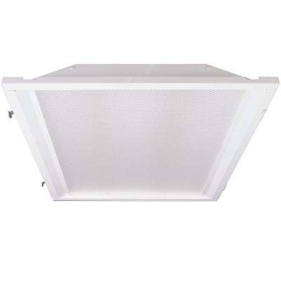 2 ft. x 2 ft. White Retrofit Recessed Troffer with LED Lighting Kit for Fluorescent Fixtures