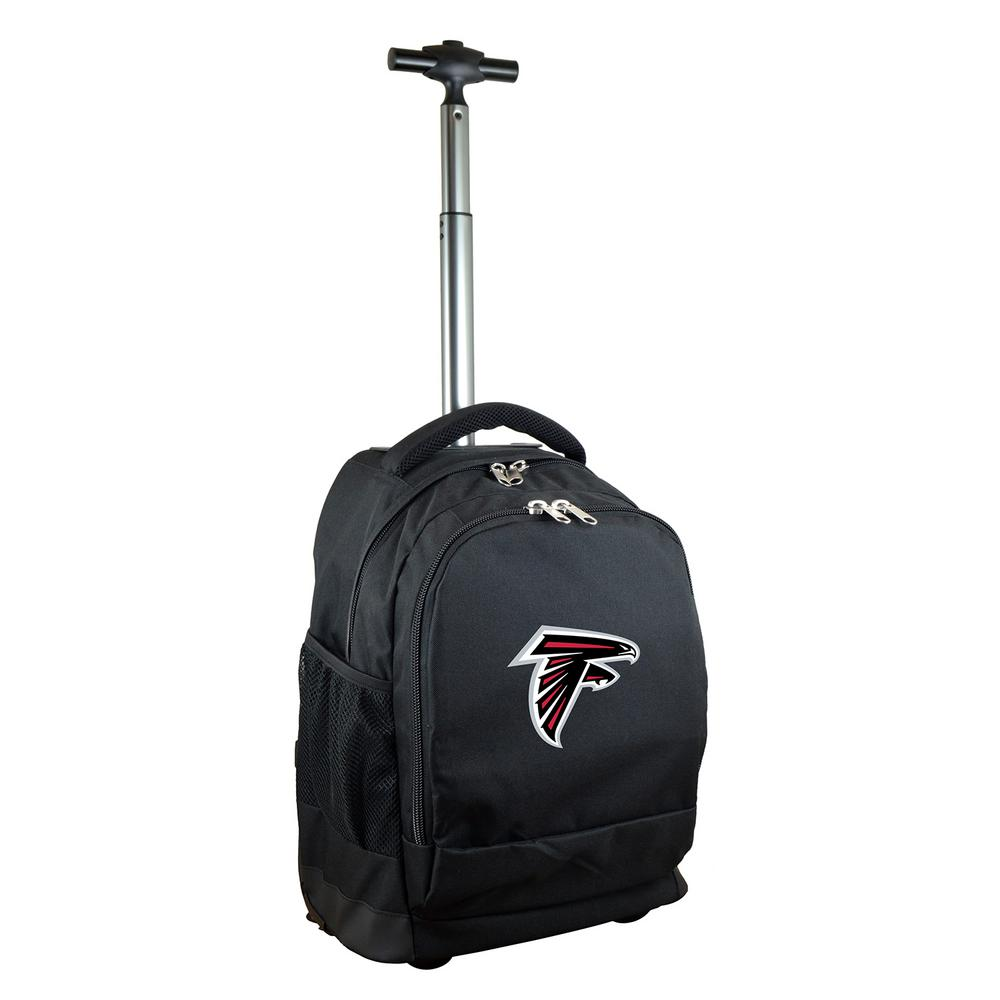 NFL Atlanta Falcons 19 in. Black Wheeled Premium Backpack