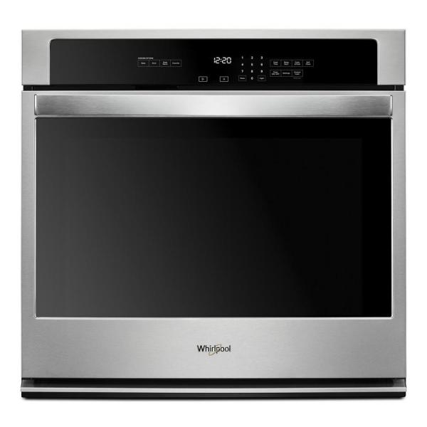 27 in. Single Electric Thermal Wall Oven with Self Cleaning in Stainless Steel