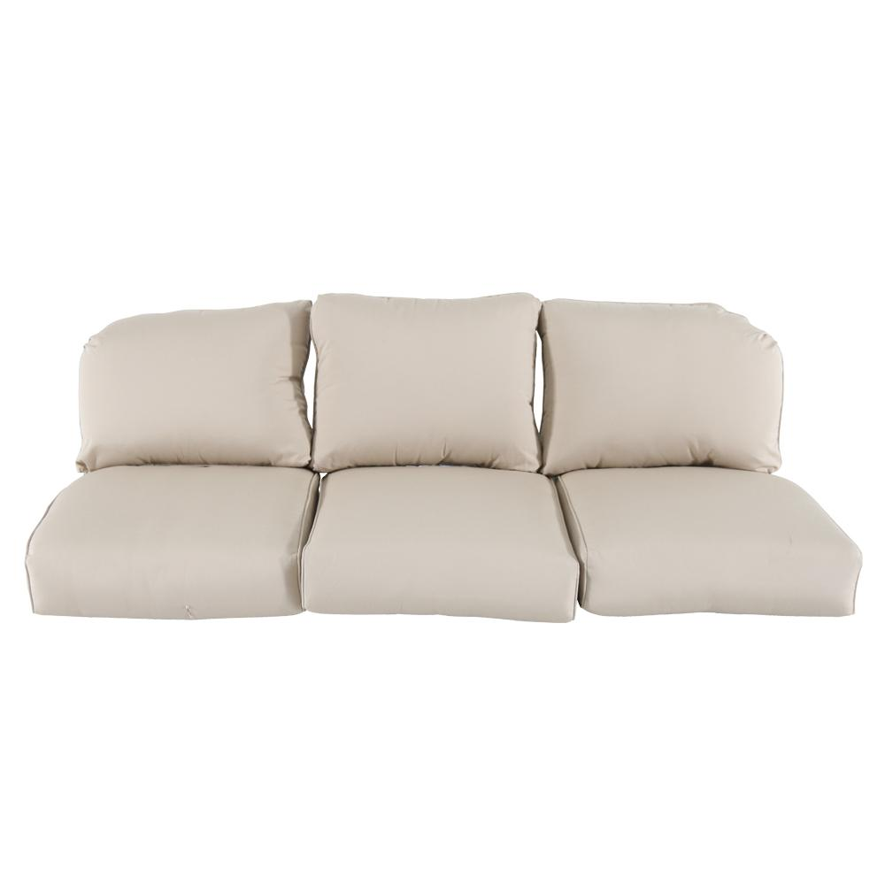 Home Decorators Collection Camden Sunbrella Canvas Antique Replacement Outdoor Sofa Cushions