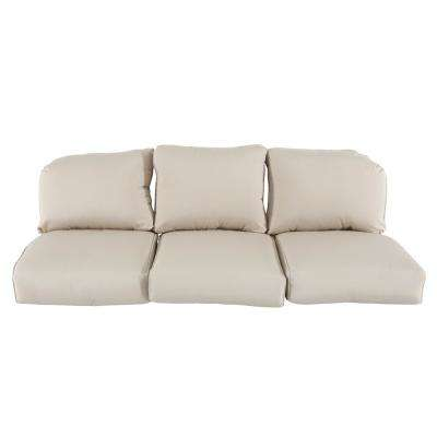 Camden Sunbrella Canvas Antique Replacement Outdoor Sofa Cushions