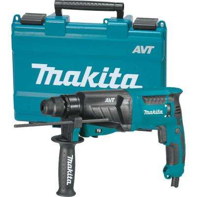 7 Amp 1 in. Corded SDS-Plus Concrete/Masonry AVT (Anti-Vibration Technology) Rotary Hammer Drill w/ Side Handle and Case
