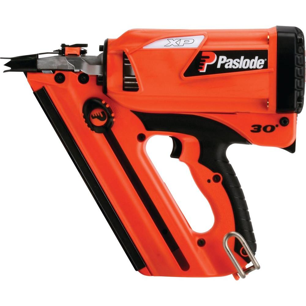 Paslode Framing Gun Battery: Paslode Cordless CF325XP Lithium-Ion 30° Framing Nailer