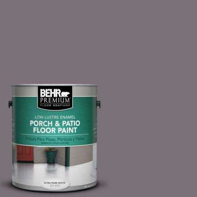 1 gal. #PPU17-18 Echo Low-Lustre Porch and Patio Floor Paint