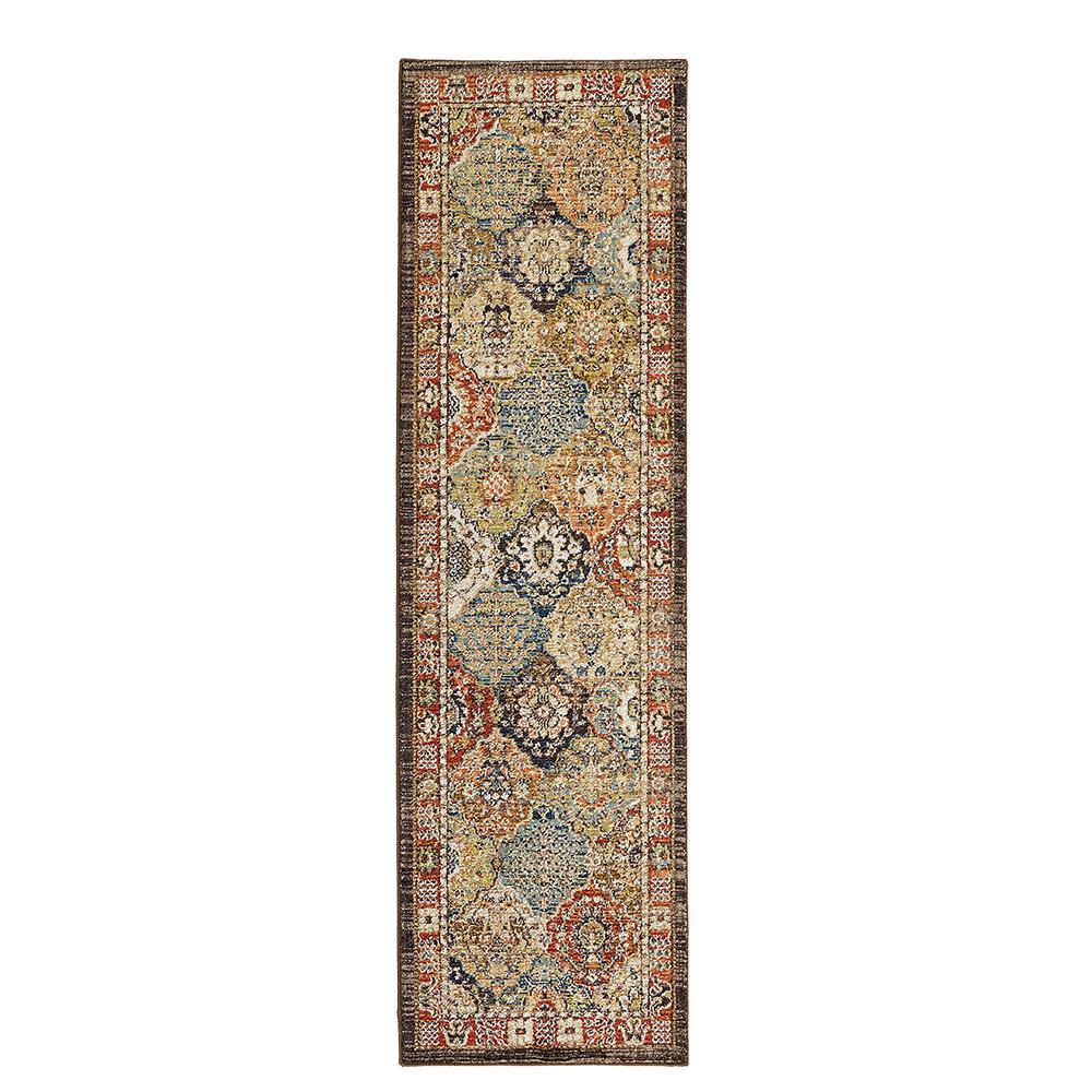 Home decorators collection patchwork medallion multi 2 ft for Home decorators rug runners