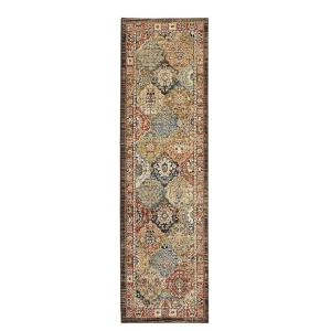 Home Decorators Collection Patchwork Medallion Multi 2 ft. x 7 ft. Runner by Home Decorators Collection