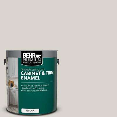 1 gal. #HDC-MD-21 Dove Semi-Gloss Enamel Interior Cabinet and Trim Paint