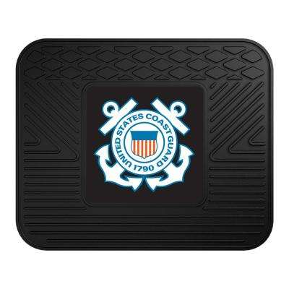 U.S. Coast Guard Heavy-Duty 17 in. x 14 in. Vinyl Utility Car Mat