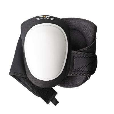 T-Foam White Cap Hard Terrain Kneepads