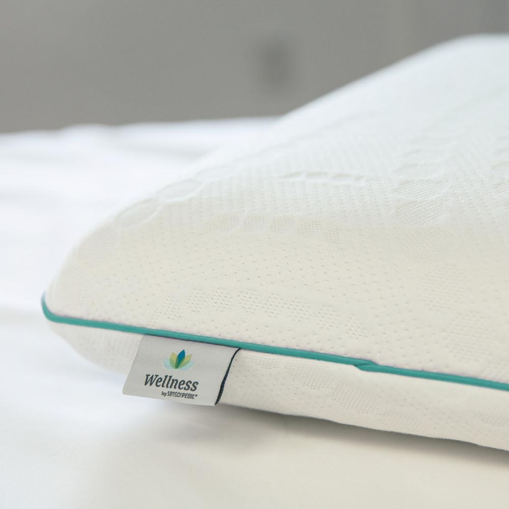 SensorPEDIC Fresh - Eucalyptus Infused Memory Foam Standard Pillow