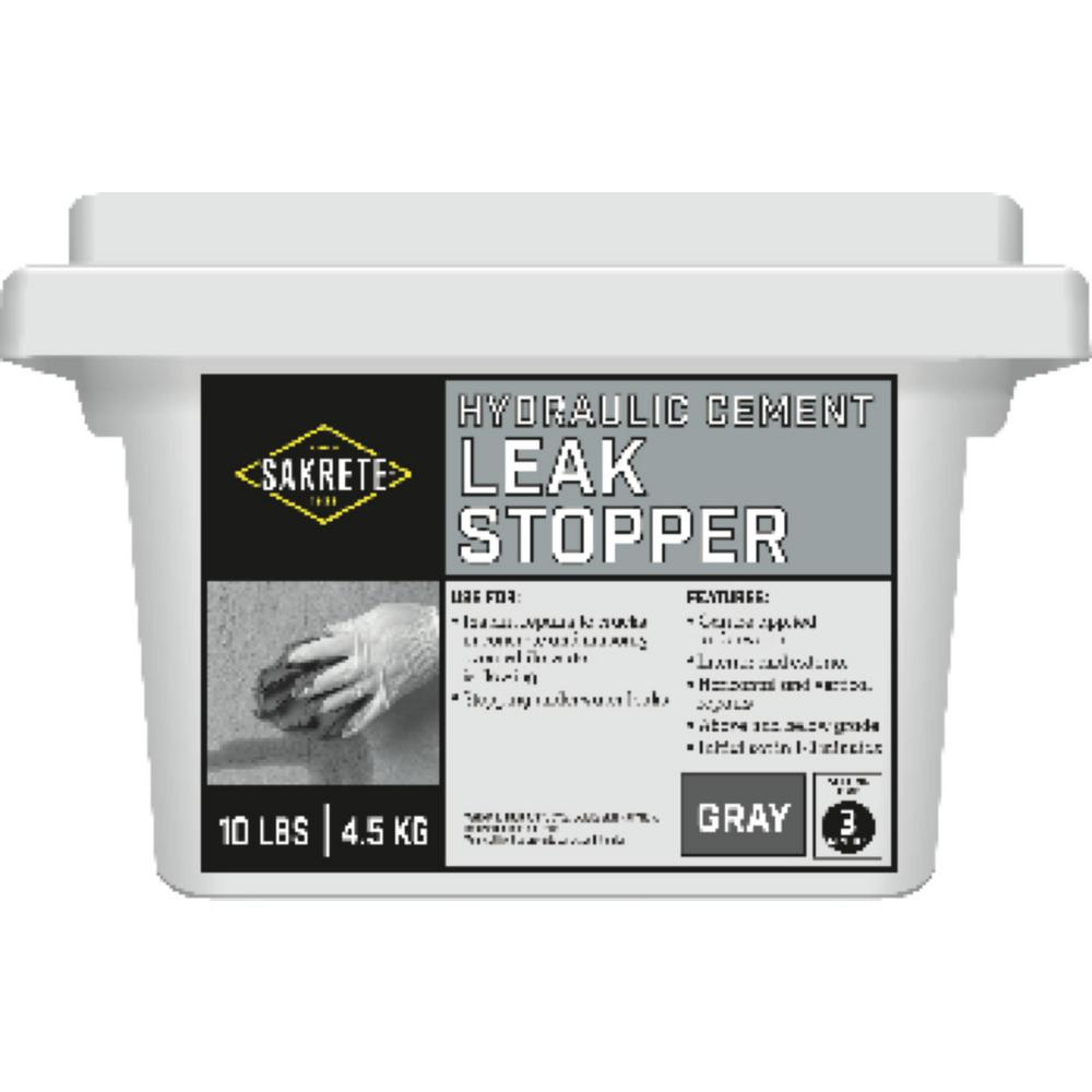 Sakrete 10 Lb Leak Stopper Cement Concrete Mix 60205005