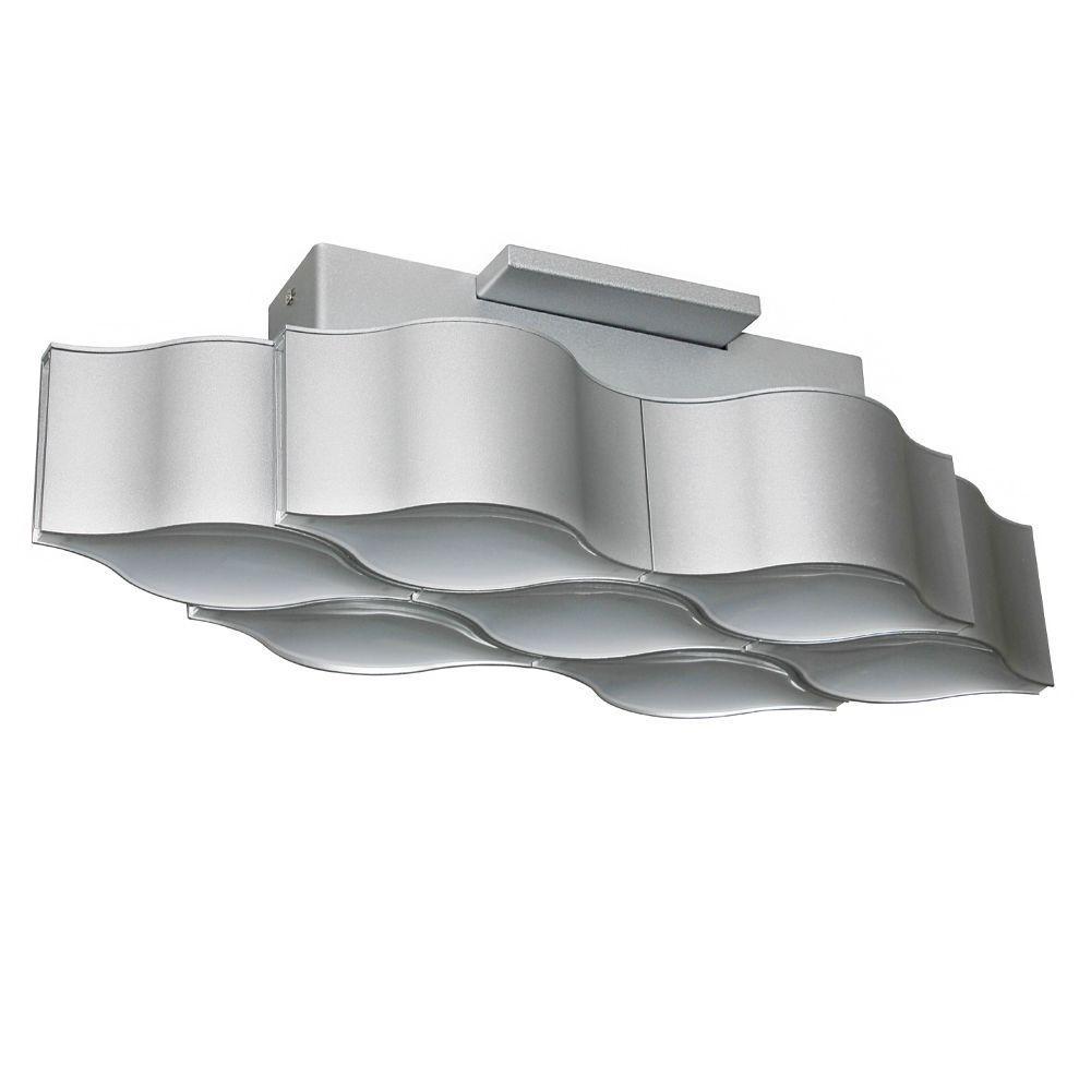 VONN Lighting Asellus Collection 19 inch Silver/Nickel LED Modern Ceiling Light by VONN Lighting